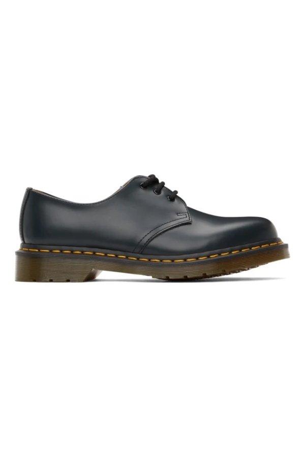 Navy 1461 德比鞋