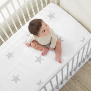 一律5折 $14.97 原价$29.95闪购:aden + anais官网 婴儿经典纱布床单闪购优惠