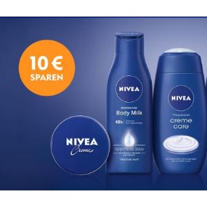 满€6起就可以使用哦Nivea €10优惠券来了 打印出来就可以直接使用