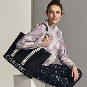 低至5折+额外7.5折 $28收运动内衣限今天:Calvin Klein 全场大促 男女舒适家居服饰促销