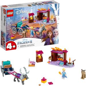 $27.99(原价$39.99)LEGO 乐高冰雪奇缘2 艾莎的马车大冒险41166 共116个颗粒