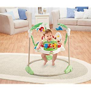 Amazon.com : Fisher-Price Rainforest Jumperoo : Infant Bouncers And Rockers : Baby