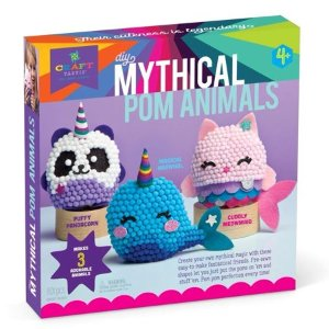 Craft-tastic Mythical Pom Animals Kit - Walmart.com