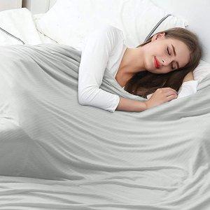 低至£29收 再也不怕闷热盗汗夏日必备 冰感空调毯 软绵绵会呼吸的毯子 一秒沦陷