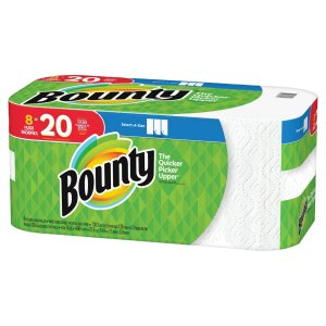 Spend $50 get a $15 gift card + 10% OffBounty Paper Towels 12 mega/double & 8 huge