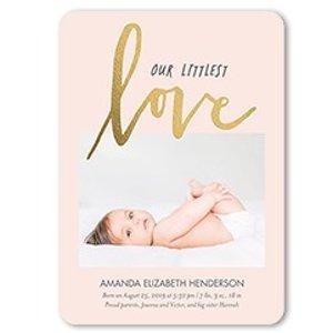 免费邮寄到家Shutterfly 官网 Tiny Prints 10张个人定制卡片免费送