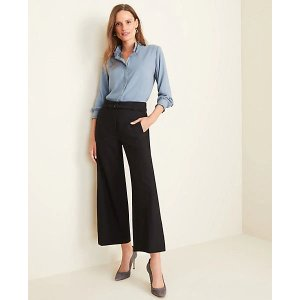 Ann TaylorThe Belted Wide Leg Marina Pant | Ann Taylor