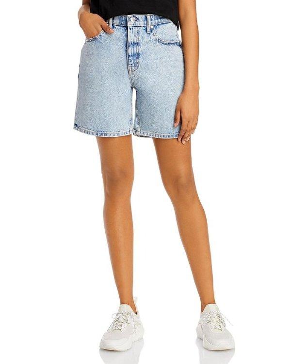 中腰牛仔短裤