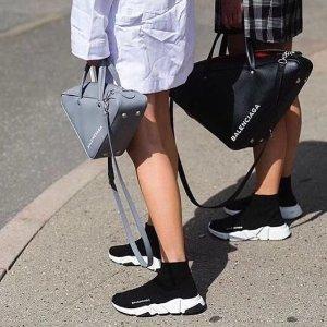 4折起 BBR运动鞋低至€156Burberry、巴黎世家 夏季大促 袜子鞋、沙漏包、厚底靴等上架