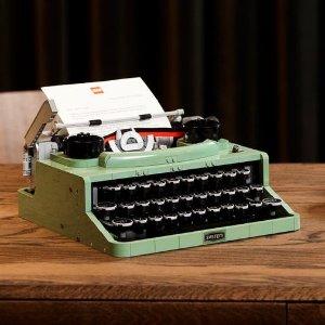 $199.99 VIP提前购 送礼新品预告:LEGO ideas系列 打字机,三角钢琴同门爆款7/1上市