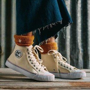 低至5折+无门槛包邮独家:PF Flyers官网 美式经典复古帆布鞋