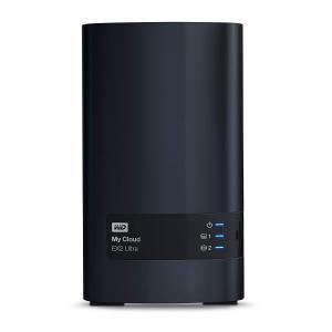 秒杀倒计时¥3012西部数据 My Cloud EX2 Ultra 网络附属存储器 20TB