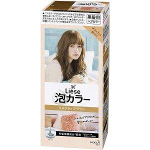 买5罐低至约$12.4/罐花王丽泽泡泡染发剂 奶茶棕色