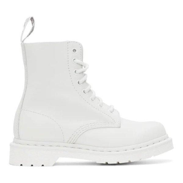 1460 白色马丁靴