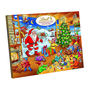 ¥115+2件包税包邮Lindt  限量版圣诞倒数日历 巧克力礼盒 292g