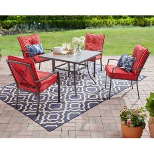 Mainstays Forest Hills 5-Piece Outdoor Patio Dining Set