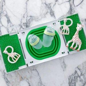 医疗级硅胶材质,额外8折,低至$10.39Como Tomo  奶瓶中的爱马仕 省钱耐摔