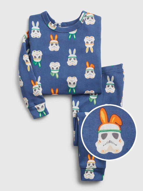 Star Wars™ 婴儿、小童有机棉睡衣套装