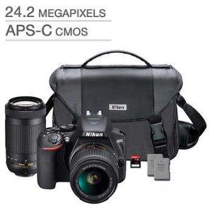 Black Friday Sale Live: Nikon D3500 DSLR Camera 2 Lens Bundle