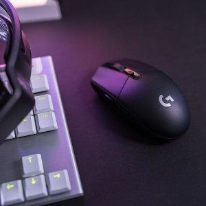低至6.7折 €39.99收黑色款Logitech G305 Lightspeed 无线游戏鼠标 搭载HERO 12K传感器