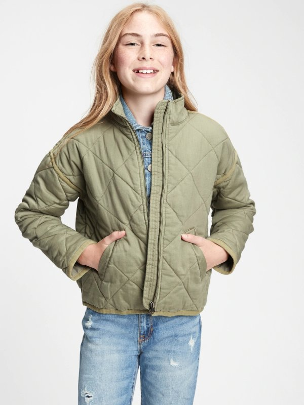 女童、大童外套