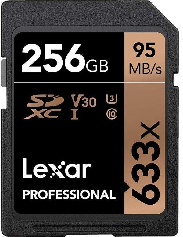 Professional 633X 256GB SDXC UHS-I 存储卡