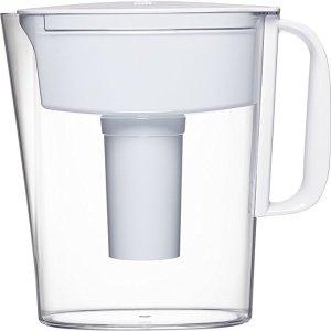 $14.99 (原价$19.99)Brita 碧然德5杯容量滤水壶,带滤芯