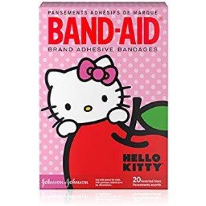 $7.39 包邮Band-Aid Hello Kitty 超可爱透气创可贴 20片x2盒 共40片