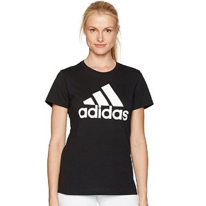 $19 adidas Women's Badge of Sport Logo Tee