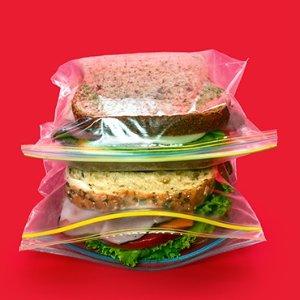 $5.47 (原价$17.04)Glad 食物存储拉链保鲜袋 200个