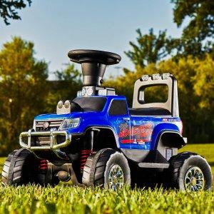 $49折扣升级:Huffy 12伏 可骑行二合一怪兽卡车玩具车,可遥控