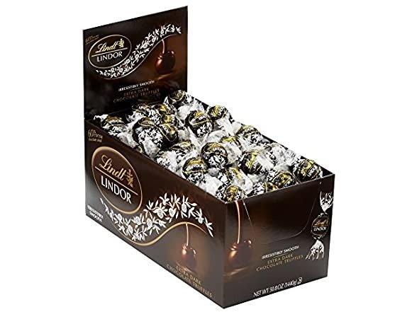 Lindor 60%黑巧克力松露 120颗