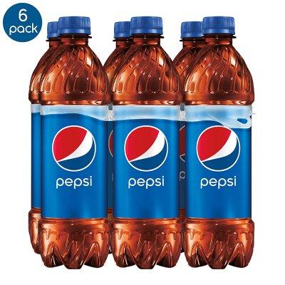 $2.25 for prime membersPepsi, Bottles 16.9 Fl Oz (pack of 6)