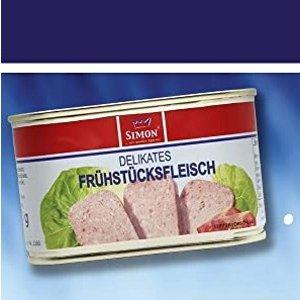 200g仅€1.99 油煎更香!Werner Simon 午餐肉 真材实料满满肉香 涮火锅必备食材