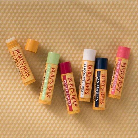 $8.73(原价$11.49)史低价:Burt's Bees 小蜜蜂天然润唇膏特卖 3支装 富含蜂蜡