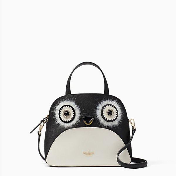 大眼睛企鹅单肩包