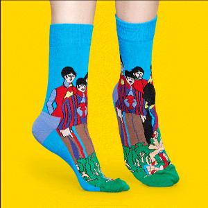 6折+免邮 卖萌神器网络星期一:Happy Socks 精选商品黑五大促 收最新时尚萌袜