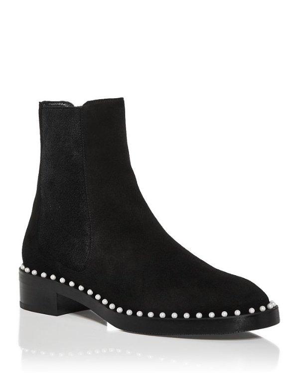 Women's Cline 珍珠短靴