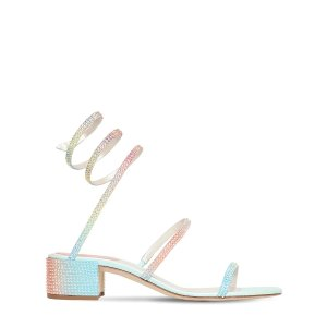 Rene Caovilla水晶凉鞋