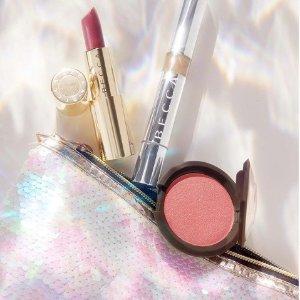 低至5折+免邮BECCA Cosmetics 全场美妆超值热卖 收香槟泡泡液体高光
