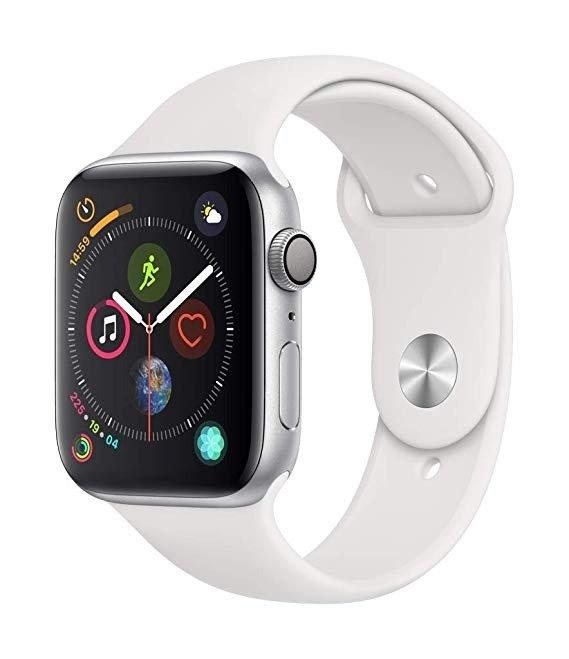 Watch Series4 (GPS, 44mm) 白色运动型表带