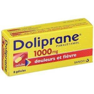 缓解头痛、牙痛、经痛、肌肉酸痛等Sanofi Doliprane® 1 000 mg - 退烧止疼胶囊