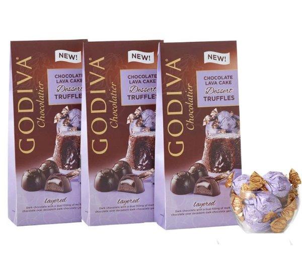 熔岩松露巧克力 3袋装