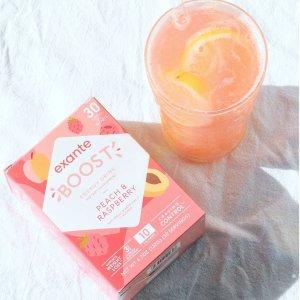 Boost 6.5折 or 第二件$10独家:exante 抗饥饿纤体饮品促销 夏天瘦起来 每盒30条
