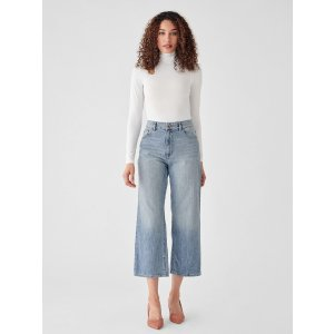 DL1961Hepburn High Rise Wide Leg | Humboldt