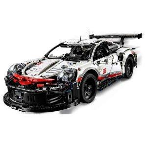 $149.99元旦新品 VIP得两份礼折扣升级:LEGO乐高 新品 保时捷911 RSR超跑 42096 已登场