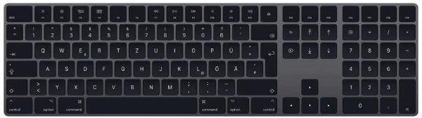 Magic Keyboard 深空灰