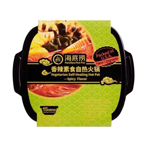 香辣素食自热火锅 410g