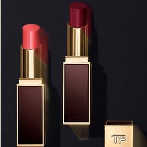 最高立减$100+任意订单送精华面霜11.11独家:Tom Ford 美妆香水热卖 收四色眼影、黑金口红