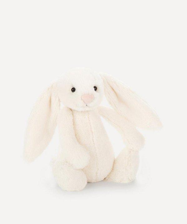毛绒玩具 白色兔子
